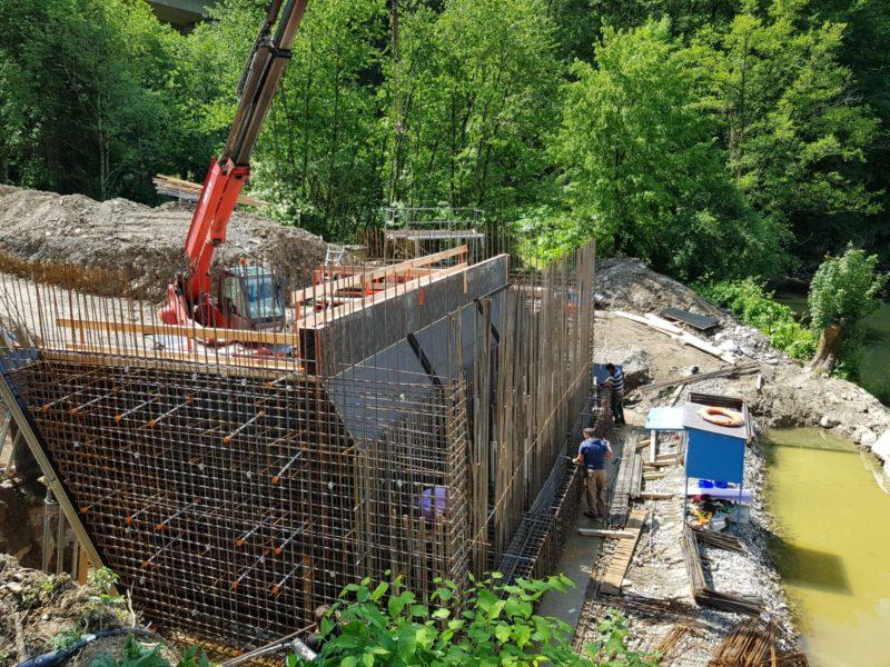 14 6 19 alter Brückenteil wird endgültig abgebaut