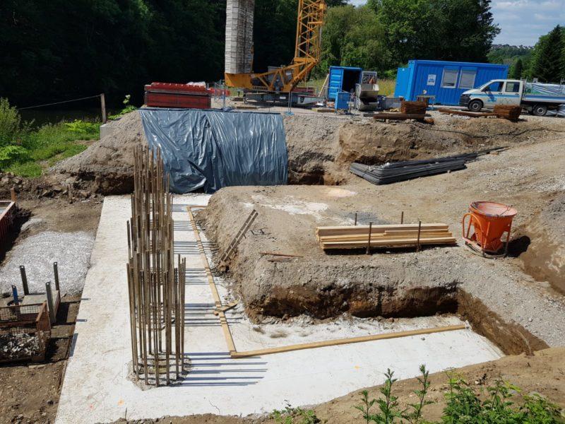 14 6 19 Uferbefestigung und Fundament